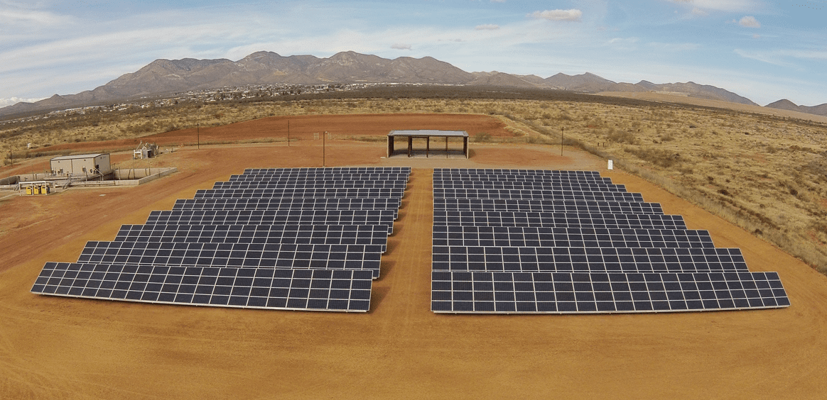 Bisbee, AZ Wastewater Treatment Plant Solar Project